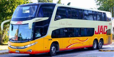 Buses JAC en Temuco