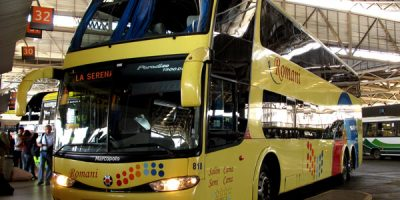 Buses Romani en Santiago