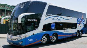 Buses EME en Concepcion