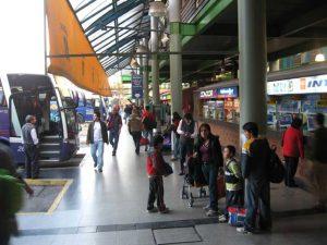 el terminal sur en santiago