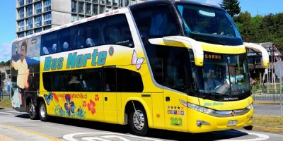 Bus Norte en Santiago