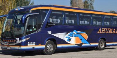 buses ahumada en los andes